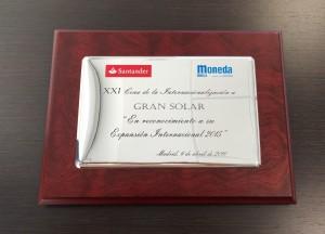 gransolar award