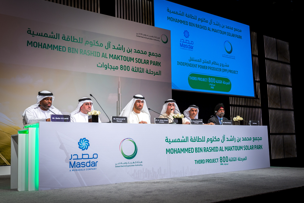 GRS IS IN THE AWARDED CONSORTIUM OF A PROJECT OF 800 MW IN DUBAI