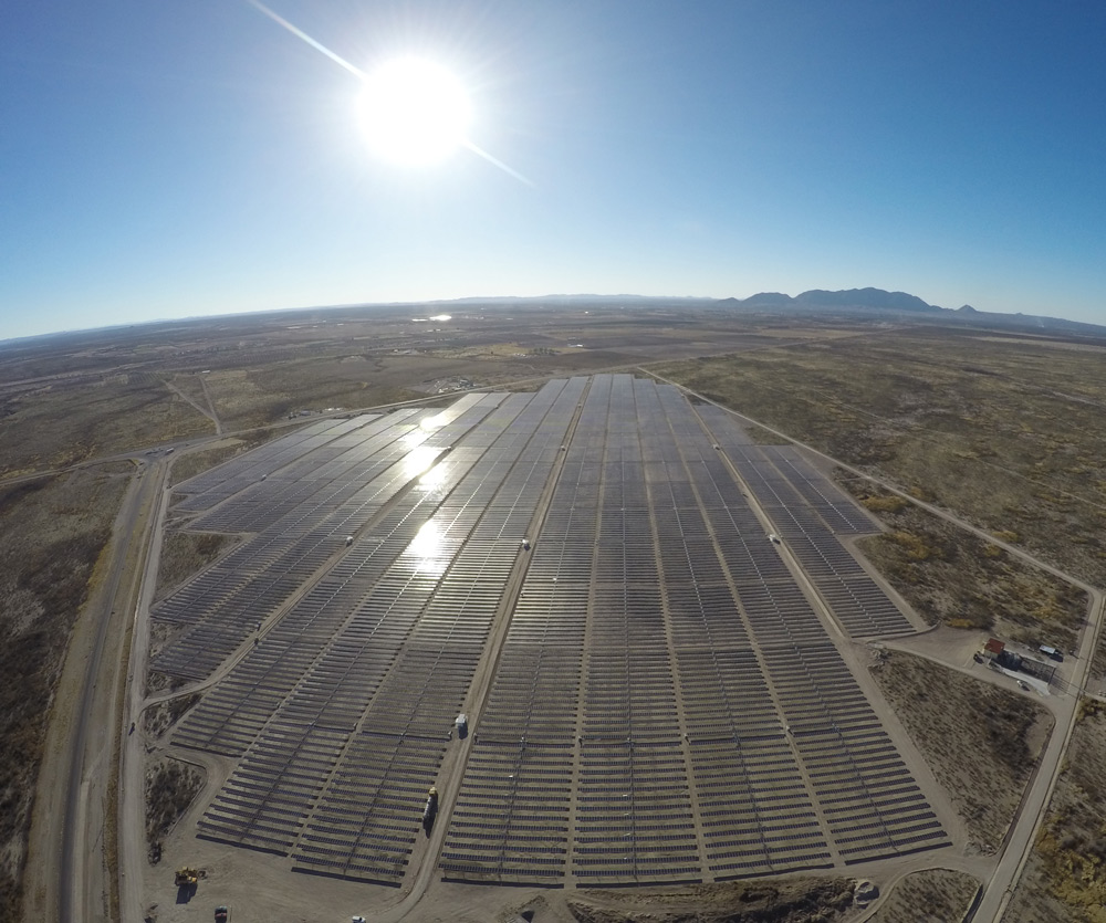 Solar plant of Camargo, developed by Gransolar Group