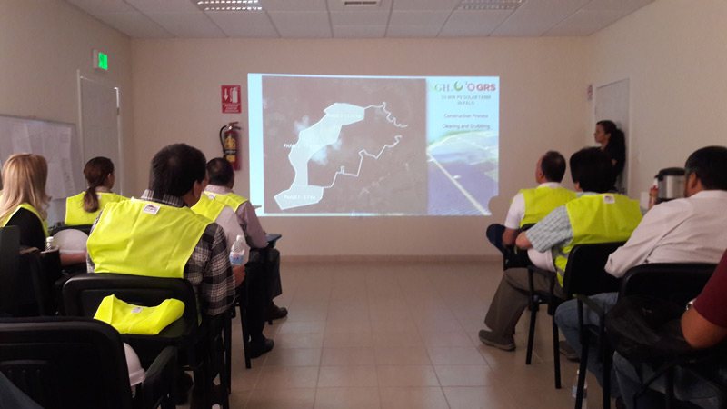 VISIT TO THE CAMARGO PLANT