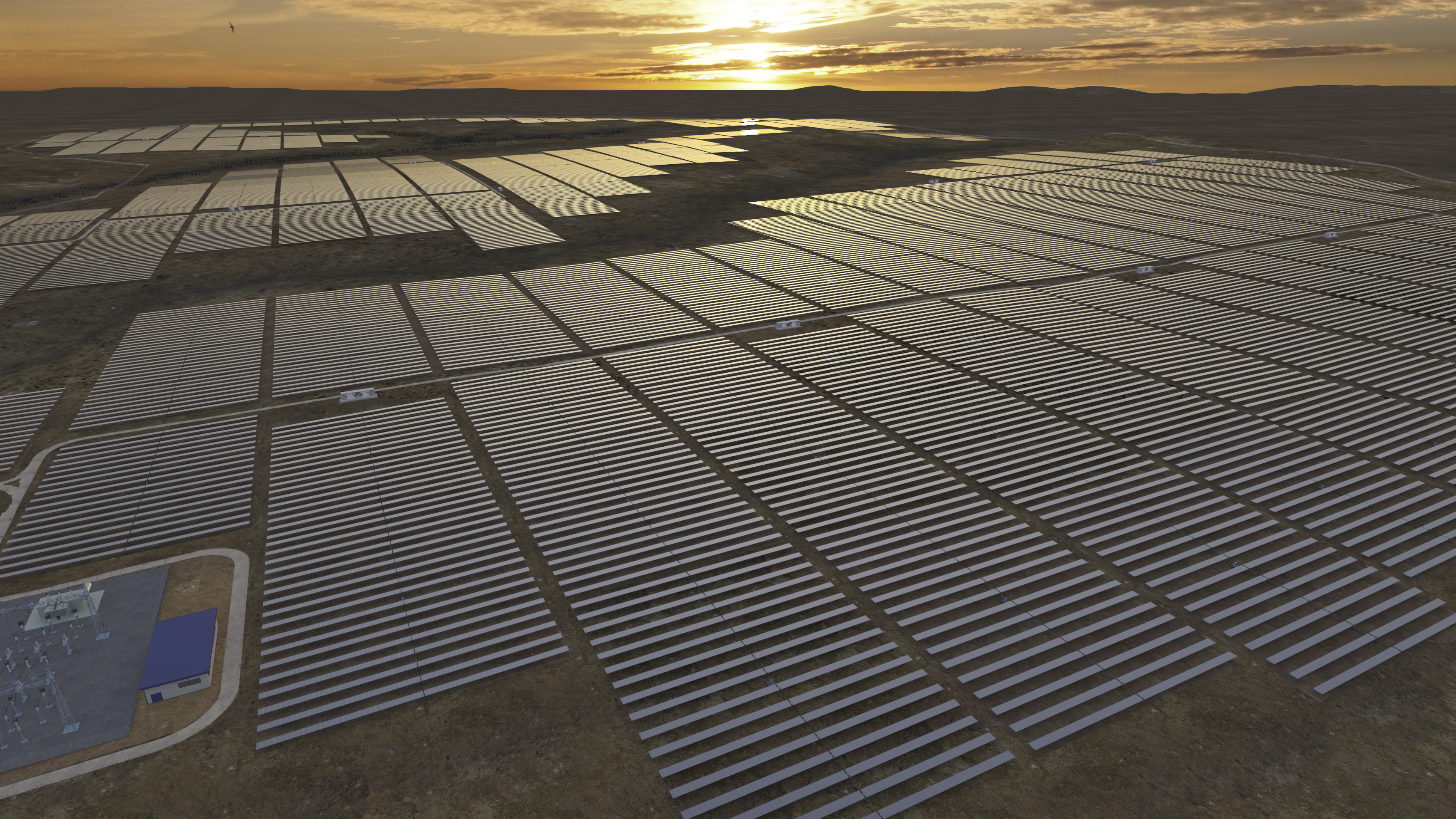 Lilyvale solar photovoltaic plant near Emerald will provide clean energy to 45,000 household