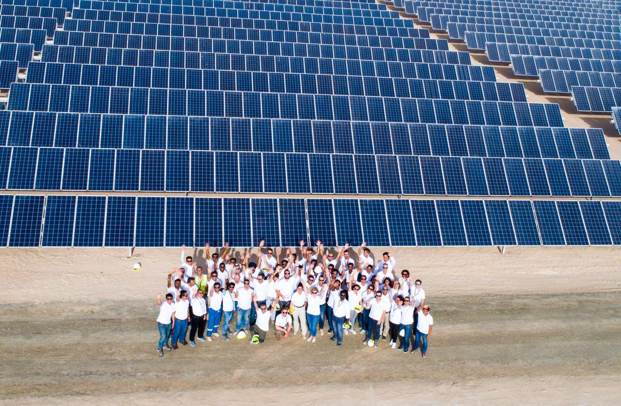 Solar plant Dubai GRS