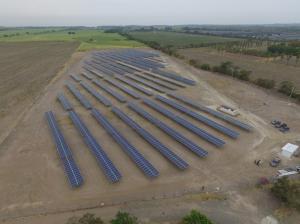 Gransolar Cangrejera Solar Plant in El Salvador