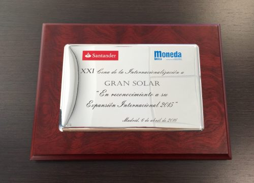 GRS awarded for its international expansion in 2015