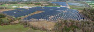 Gransolar IS-31 solar plant in North Carolina USA