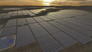 Lilyvale 125MW photovoltaic solar plant in Australia