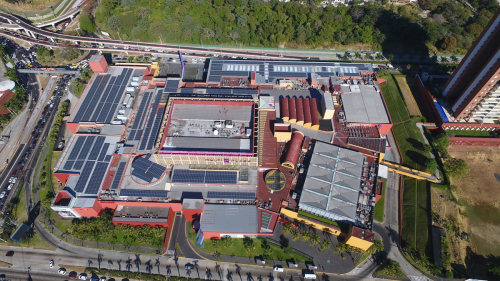 GRS ENDS SUCCESSFULLY THE ROOFTOP INSTALLATION OF THE  MULTIPLAZA MALL, IN EL SALVADOR